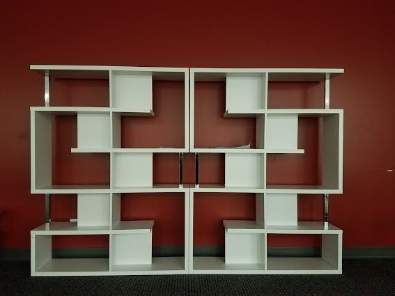 "Best And Newest Furniture Assembly Team On Twitter: ""#chantilly #geometric With Chantilly Geometric Bookcases (View 10 of 20)"