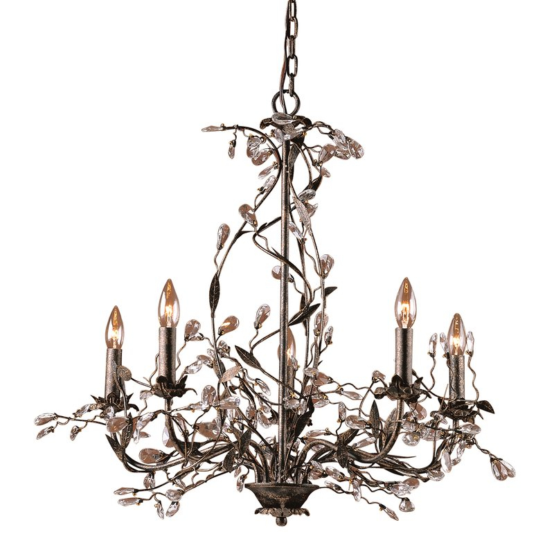 Best And Newest Hesse 5 Light Candle Style Chandeliers Within Lorraine 5 Light Chandelier (Gallery 22 of 30)