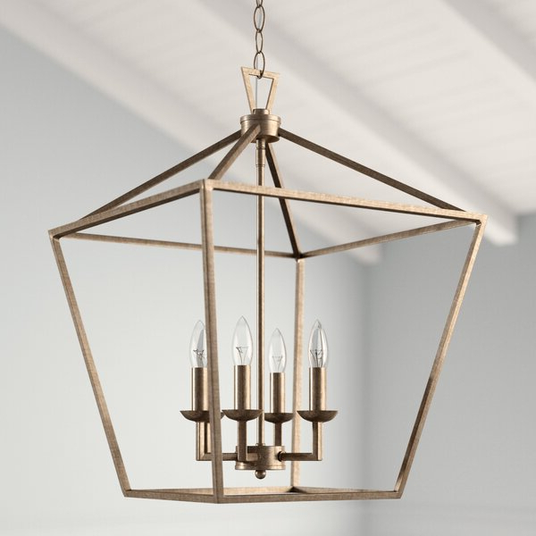 Best And Newest Louanne 3 Light Lantern Geometric Pendants With Carmen 6 Light Lantern Geometric Pendant (View 2 of 30)