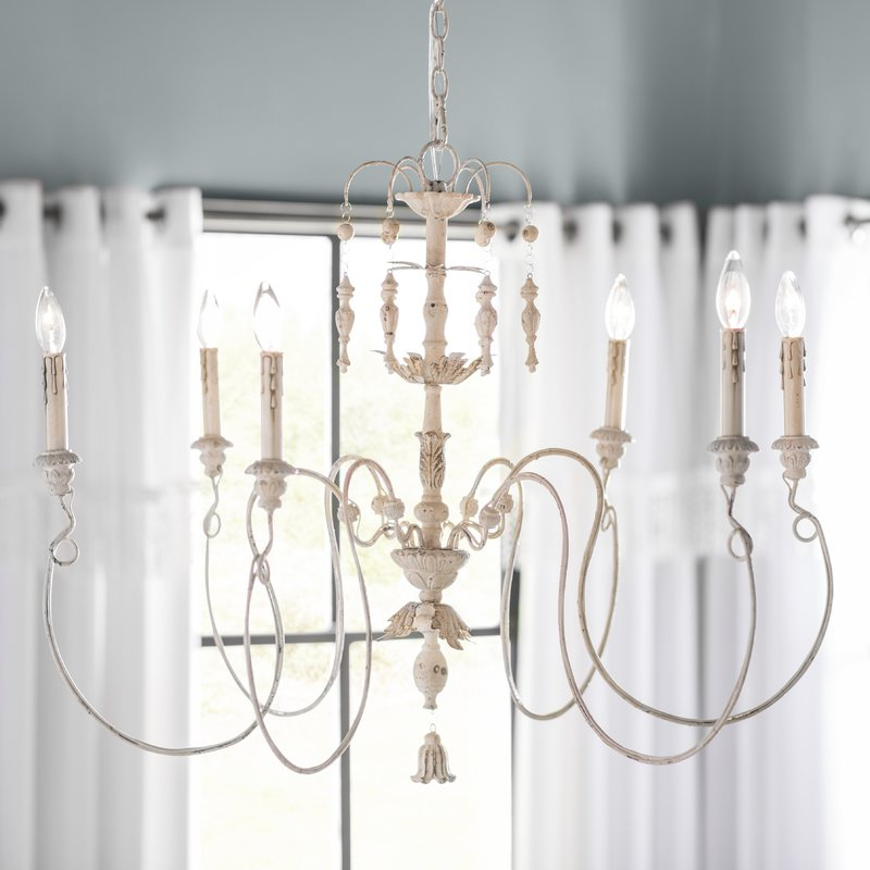 Best And Newest Paladino 6 Light Chandelier For Paladino 6 Light Chandeliers (Gallery 2 of 30)