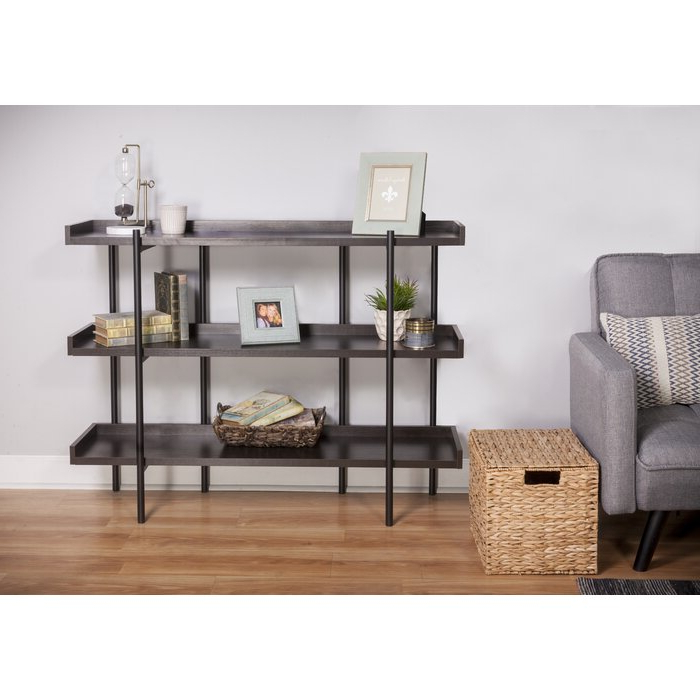 Best And Newest Parker Modern Etagere Bookcase Intended For Parker Modern Etagere Bookcases (Gallery 2 of 20)