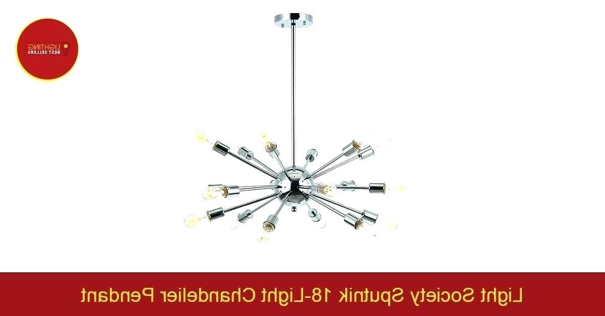 Best And Newest Sputnik 18 Light Chandelier Regarding Defreitas 18 Light Sputnik Chandeliers (View 22 of 30)