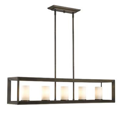 Best And Newest Thorne 4 Light Lantern Rectangle Pendants Intended For Thorne 4 Light Lantern Rectangle Pendant (View 5 of 30)