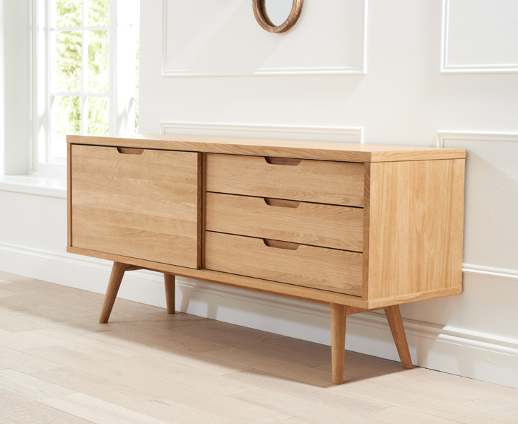Best And Newest Tribeca Oak Sideboard Within Tribeca Sideboards (View 16 of 20)