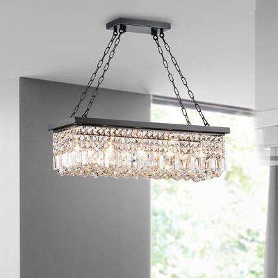 Best And Newest Verdell 5 Light Crystal Chandeliers Within Huskar Bronze 4 Light Pendant With Crystal Shade – Artofit (View 6 of 30)