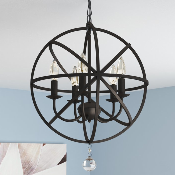 Best And Newest Verlene Foyer 5 Light Globe Chandeliers With Verlene Foyer 5 Light Globe Chandelier (View 4 of 30)