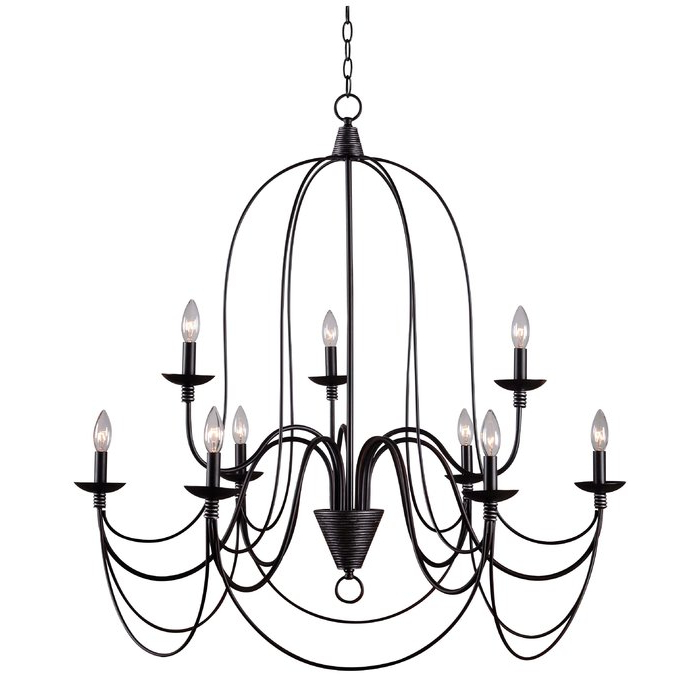 Best And Newest Watford 9 Light Candle Style Chandelier Within Giverny 9 Light Candle Style Chandeliers (View 5 of 30)