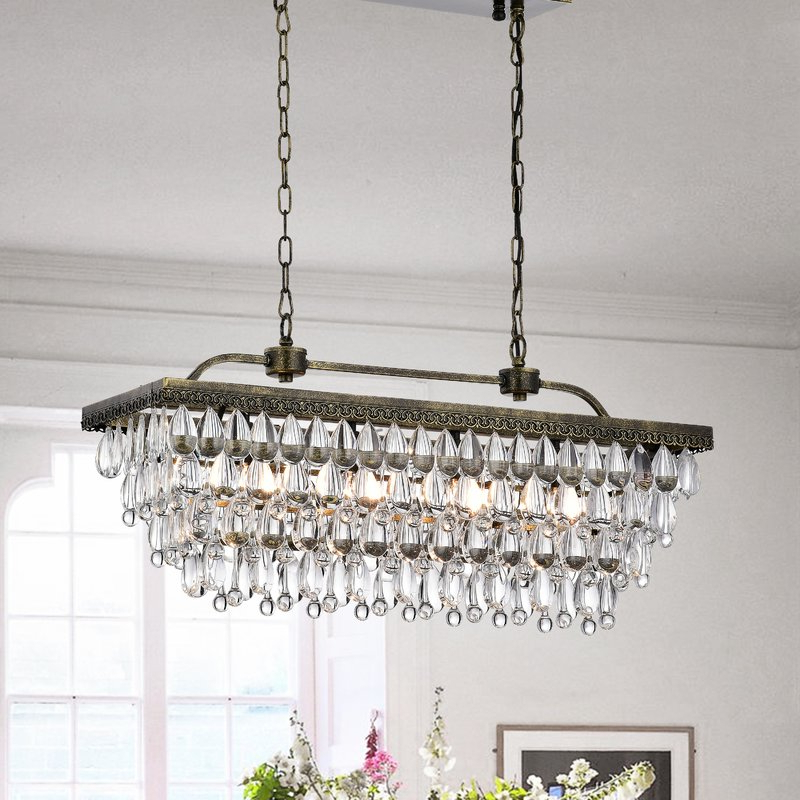 Best And Newest Whitten 4 Light Crystal Chandelier Pertaining To Whitten 4 Light Crystal Chandeliers (Gallery 1 of 30)