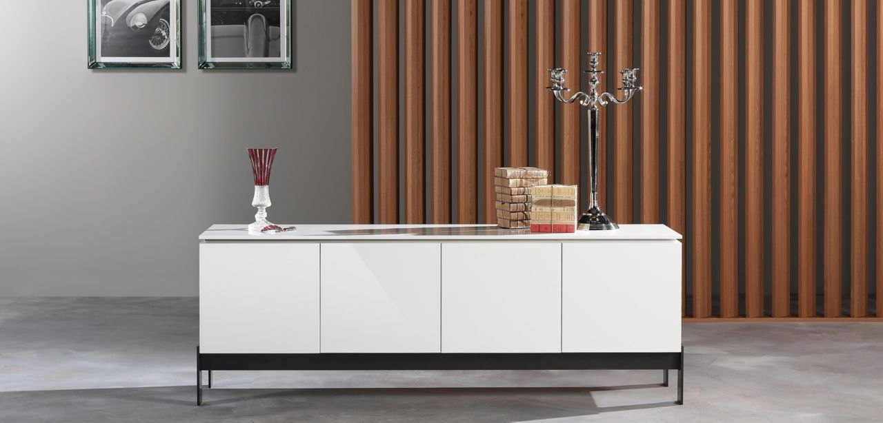 Best And Newest Womack Sideboards Intended For Sideboard In Daquacryl® (3 Mm Thick Glossy Pmma Veneer On (Gallery 11 of 20)
