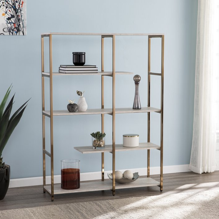 Best And Newest Yonker Etagere Bookcase Intended For Baguia Etagere Bookcases (View 16 of 20)