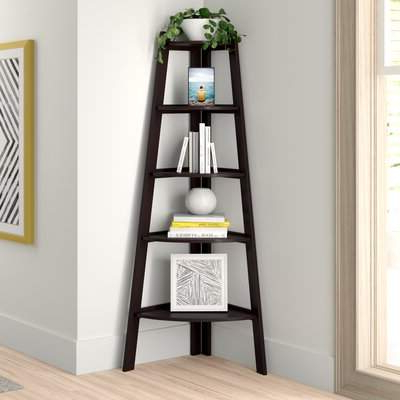 Best And Newest Zipcode Design Tisha Corner Bookcase Zipcode Design Intended For Ardenvor Corner Bookcases (View 9 of 20)