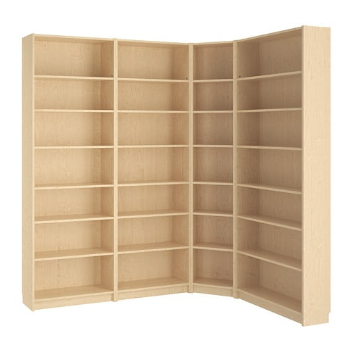 Billy – Bookcase, White Inside Favorite Tisha Corner Bookcases (Gallery 18 of 20)