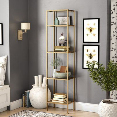Birch Lane™ Heritage Aimee Etagere Bookcase In 2019 Inside Best And Newest Aptos Etagere Bookcases (Gallery 8 of 20)