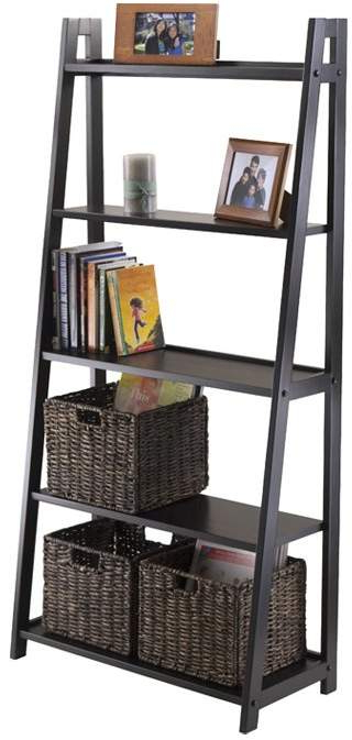 Blevens A Frame Ladder Bookcases Pertaining To Widely Used Latitude Run Blevens A Frame Ladder Bookcase (View 9 of 20)