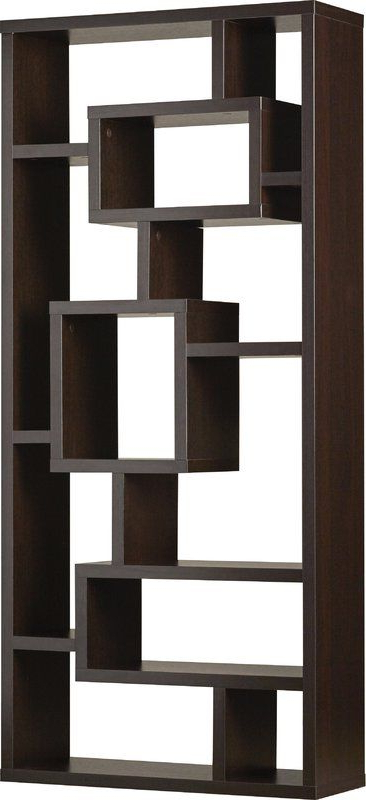 Bookcase With Cleisthenes Geometric Bookcases (View 3 of 20)