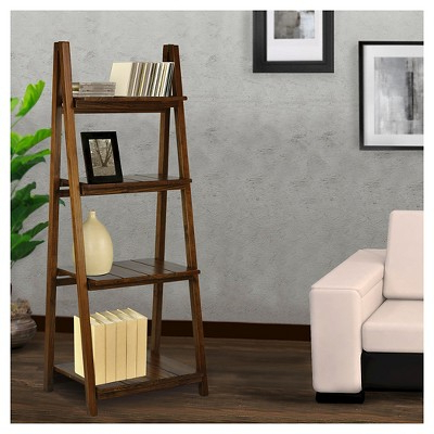 Bookcase Within Bordelon Slatted Ladder Bookcases (Gallery 7 of 20)