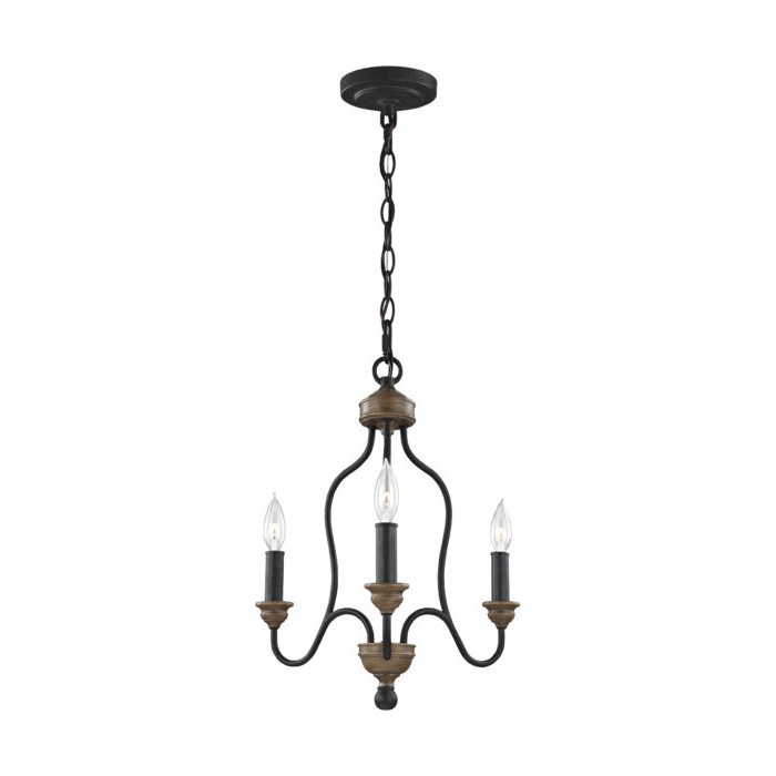 Bouchette Traditional 6 Light Candle Style Chandeliers Pertaining To Well Liked Sundberg 3 Light Candle Style Chandelier (View 12 of 30)