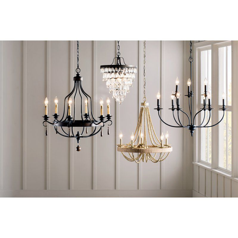 Bouchette Traditional 6 Light Candle Style Chandeliers Pertaining To Widely Used Giverny 9 Light Candle Style Chandelier In  (View 13 of 30)