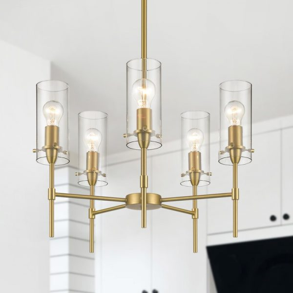 Bramers 6 Light Novelty Chandeliers With Trendy Chandeliers – Farmhouse Touches (Gallery 28 of 30)