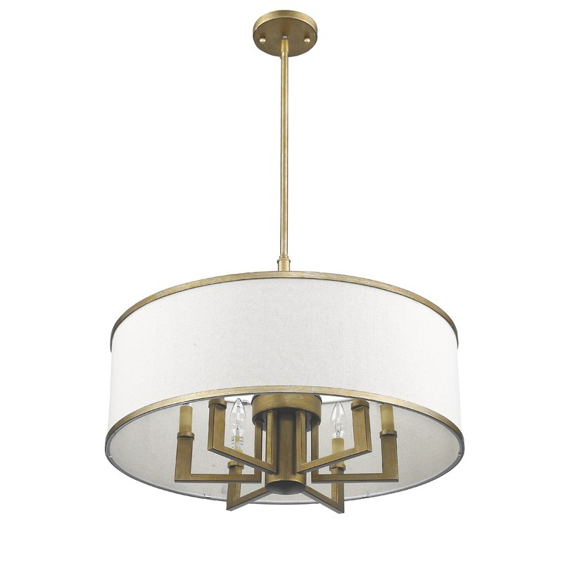 Breithaup 7 Light Drum Chandelier Intended For Current Breithaup 7 Light Drum Chandeliers (Gallery 9 of 30)