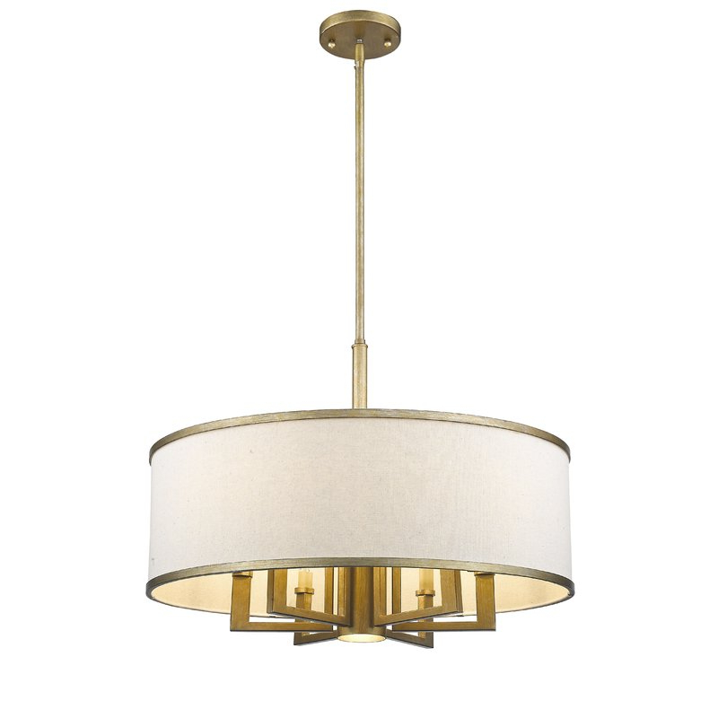Breithaup 7 Light Drum Chandeliers Pertaining To Best And Newest Breithaup 7 Light Drum Chandelier (Gallery 8 of 30)
