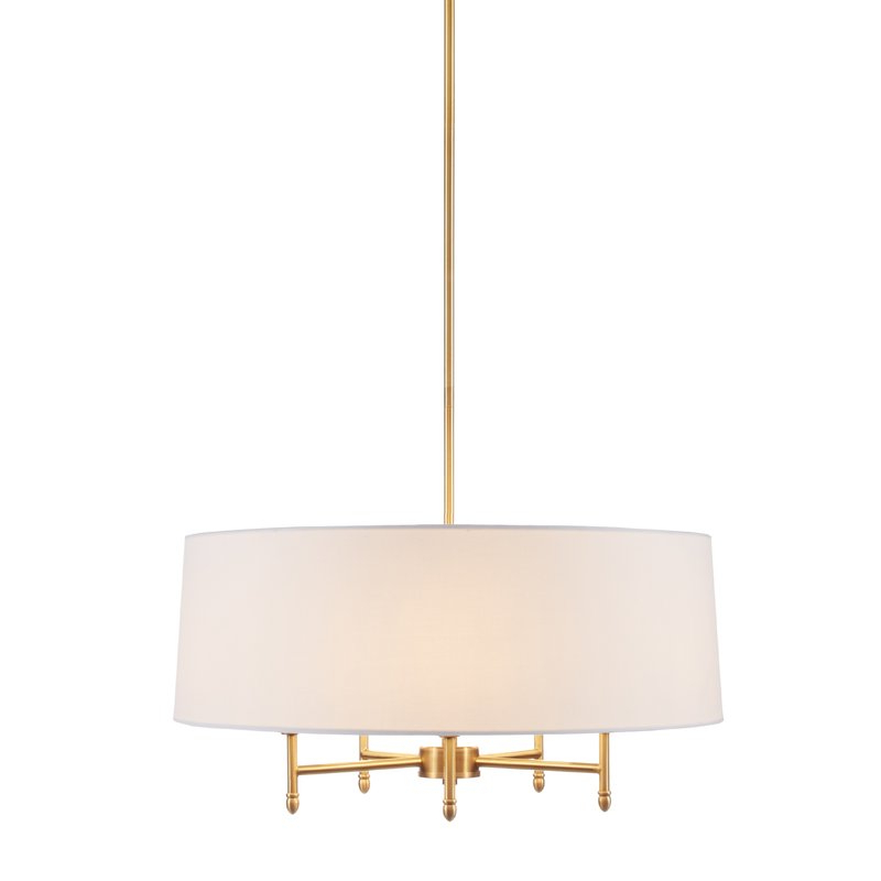 Breithaup 7 Light Drum Chandeliers Pertaining To Newest Presidio 5 Light Drum Chandelier (Gallery 13 of 30)