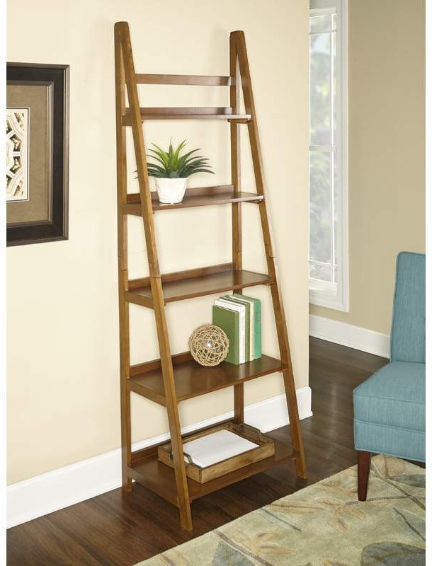 Brock Ladder Bookcases With Favorite Hashtag Home Brock Ladder Bookcase In  (View 10 of 20)