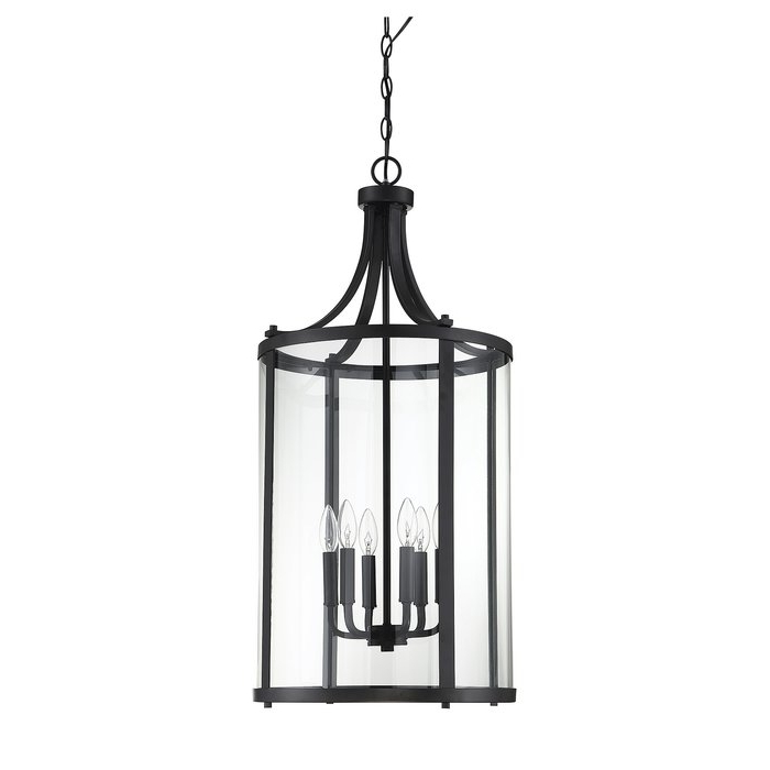 Brookville 6 Light Lantern Cylinder Pendant In 2020 Tessie 3 Light Lantern Cylinder Pendants (View 18 of 30)