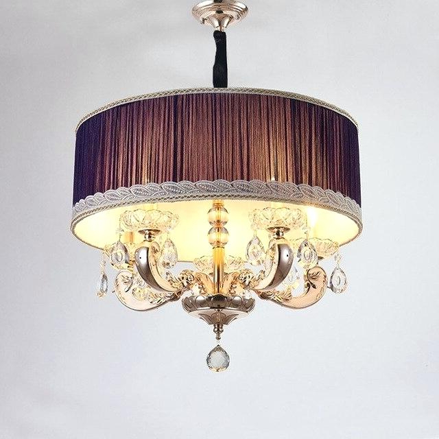 Burton 5 Light Drum Chandeliers Intended For Trendy Drum Light Fixtures – Artisanchain (View 26 of 30)