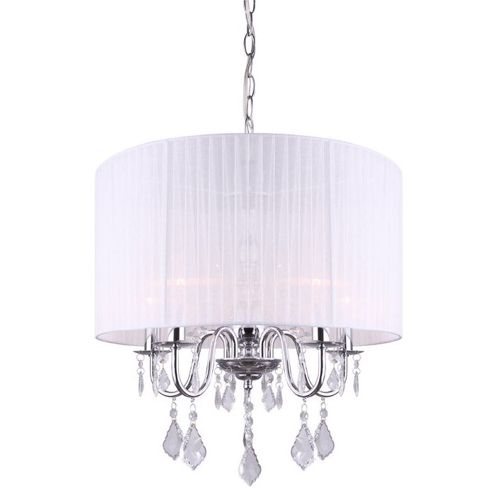 Buster 5 Light Drum Chandeliers With Most Current Buster 5 Light Drum Chandelier (View 2 of 30)