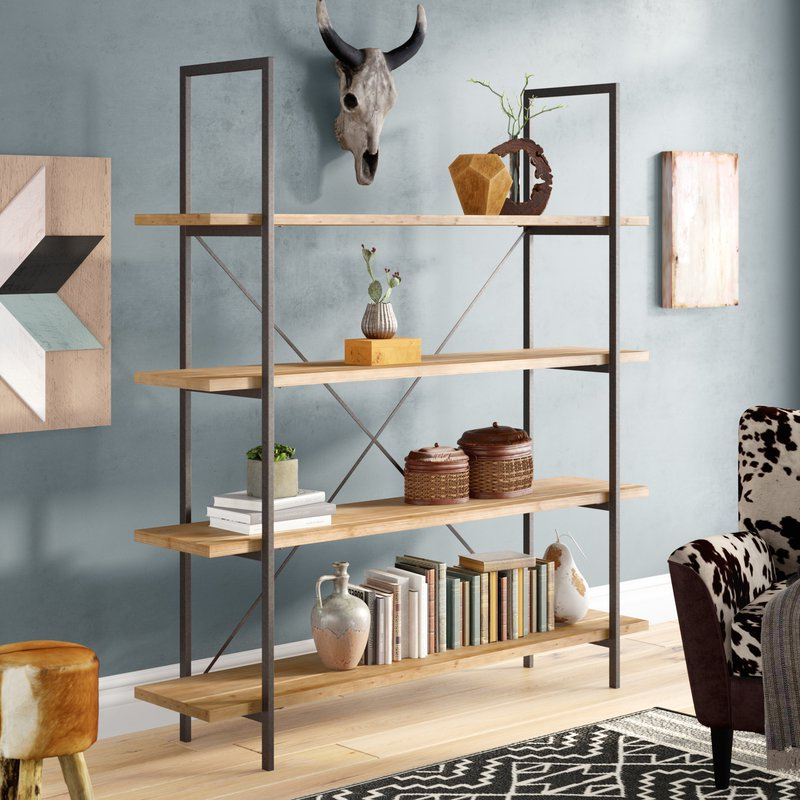 Caitlyn Etagere Bookcase Throughout Recent Caitlyn Etagere Bookcases (View 4 of 20)