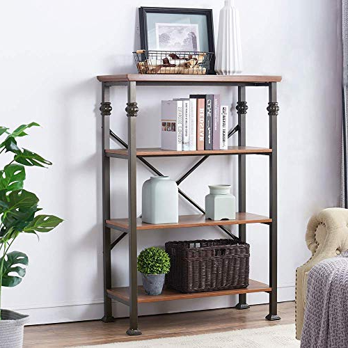 Caitlyn Etagere Bookcases For Fashionable Etagere Bookcase: Amazon (View 5 of 20)