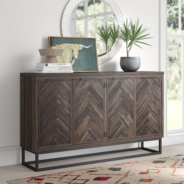 Candide Wood Credenzas In Most Recent 60 Inch Credenza (Gallery 6 of 20)