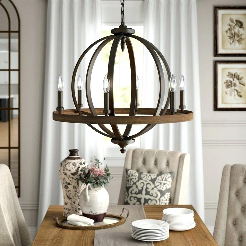 Candle Style Chandelier Bender 6 Light Bennington Lowes 4 Pertaining To Most Up To Date Armande Candle Style Chandeliers (View 15 of 30)