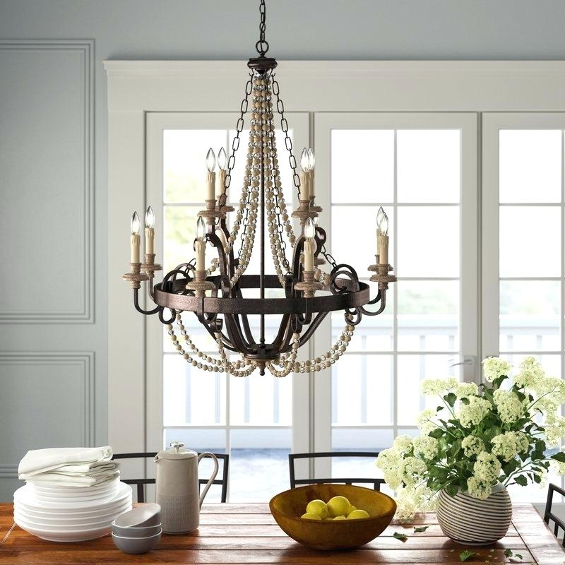 Candle Style Chandelier With Preferred Bennington 4 Light Candle Style Chandeliers (View 21 of 30)