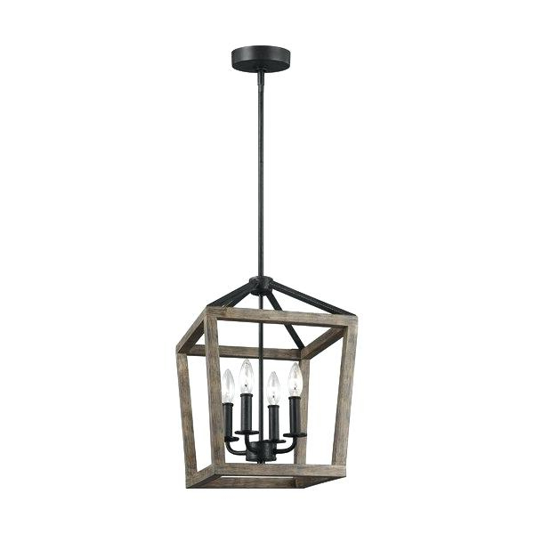 Carmen 4 Light Lantern Geometric Pendants With Current Lantern Light Fixture – Lightnepal.co (Gallery 27 of 30)