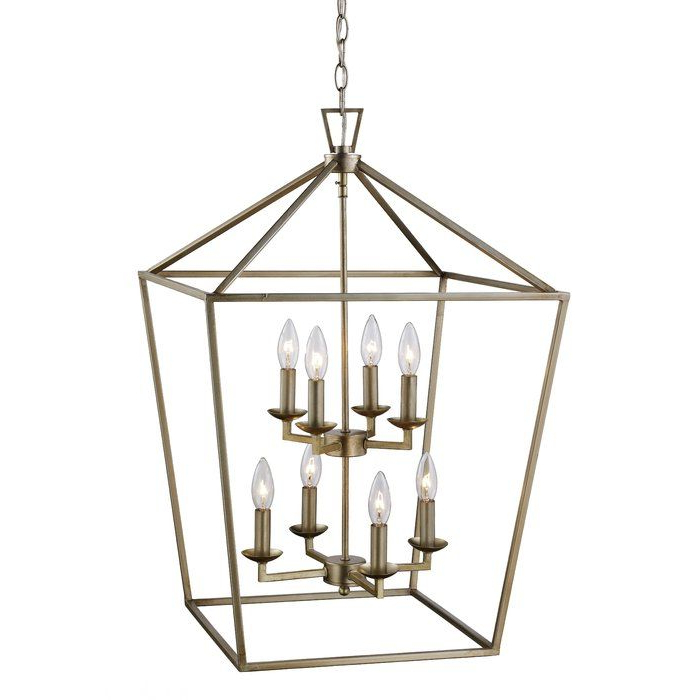 Carmen 8 Light Lantern Pendant In 2019 (Gallery 23 of 30)