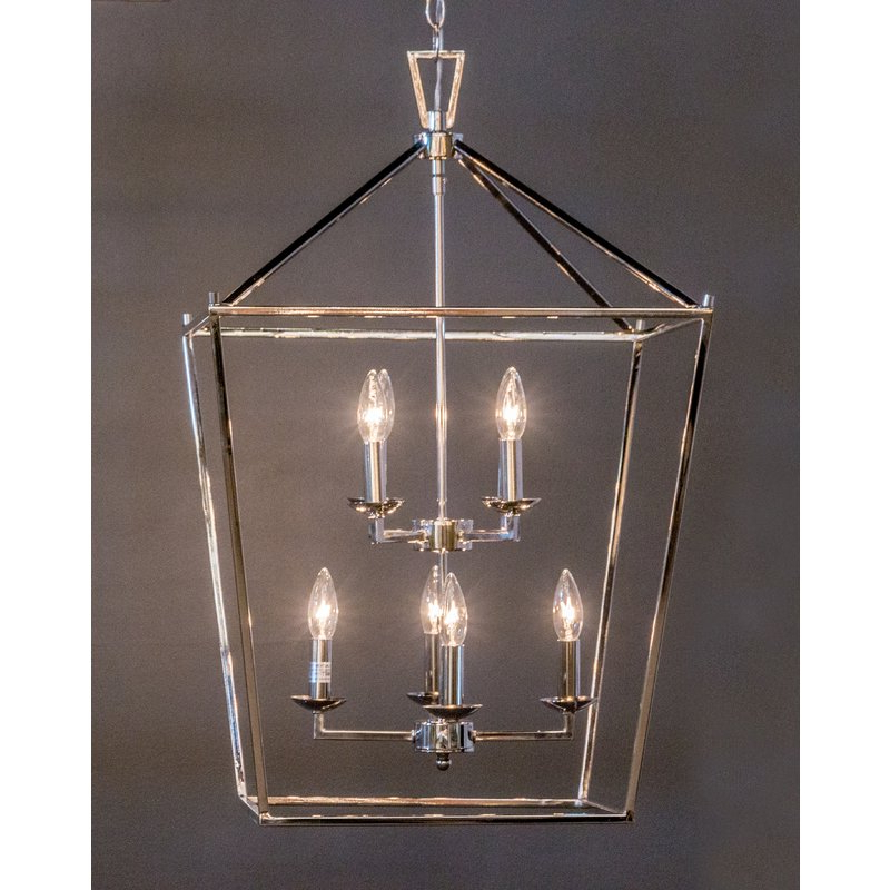 Carmen 8 Light Lantern Pendant With Regard To Famous Carmen 8 Light Lantern Tiered Pendants (Gallery 12 of 30)