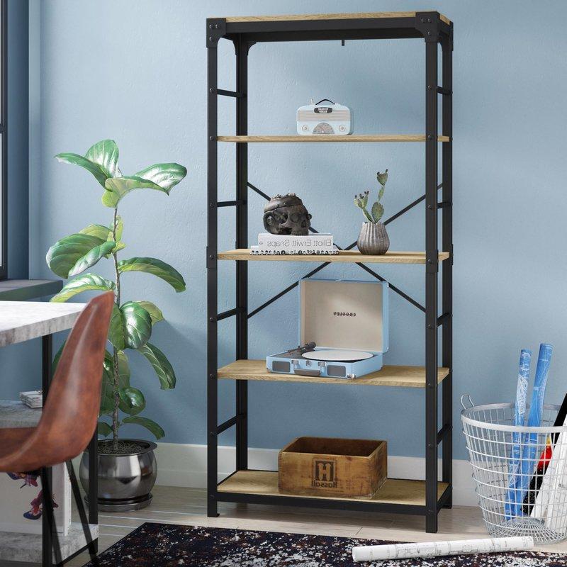 Cecelia Etagere Bookcase For Fashionable Cecelia Etagere Bookcases (View 2 of 20)