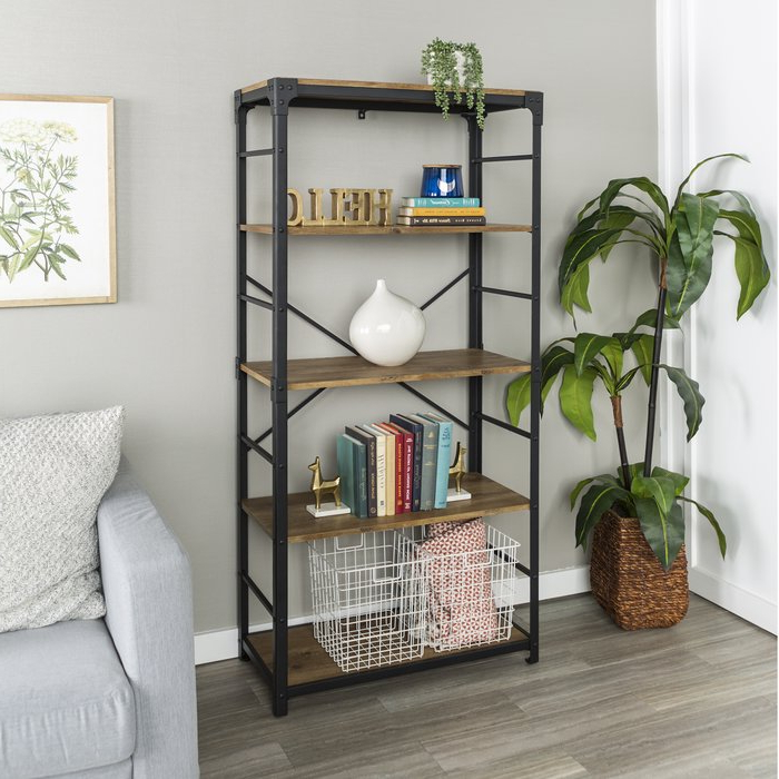 Cecelia Etagere Bookcases For Fashionable Cecelia Etagere Bookcase (Gallery 2 of 20)