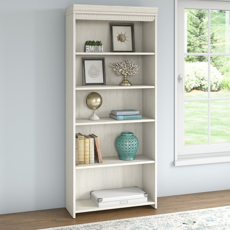 Cerrato Standard Bookcases With Regard To Well Liked Oakridge Standard Bookcase (View 14 of 20)