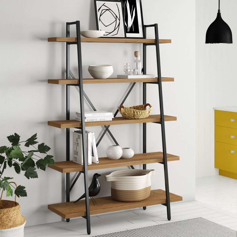 Champney Etagere Bookcase For Well Liked Champney Modern Etagere Bookcases (Gallery 15 of 20)