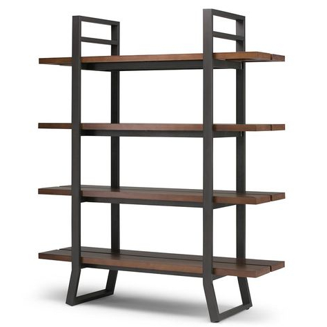 Champney Modern Etagere Bookcase Within Fashionable Champney Modern Etagere Bookcases (View 17 of 20)