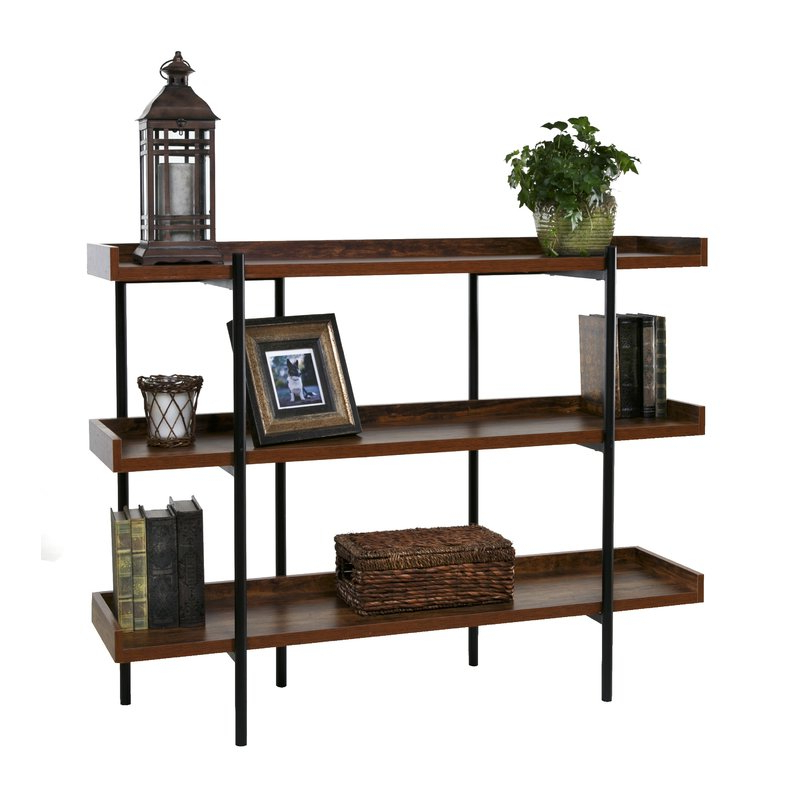 Champney Modern Etagere Bookcases Throughout Best And Newest Parker Modern Etagere Bookcase (View 9 of 20)