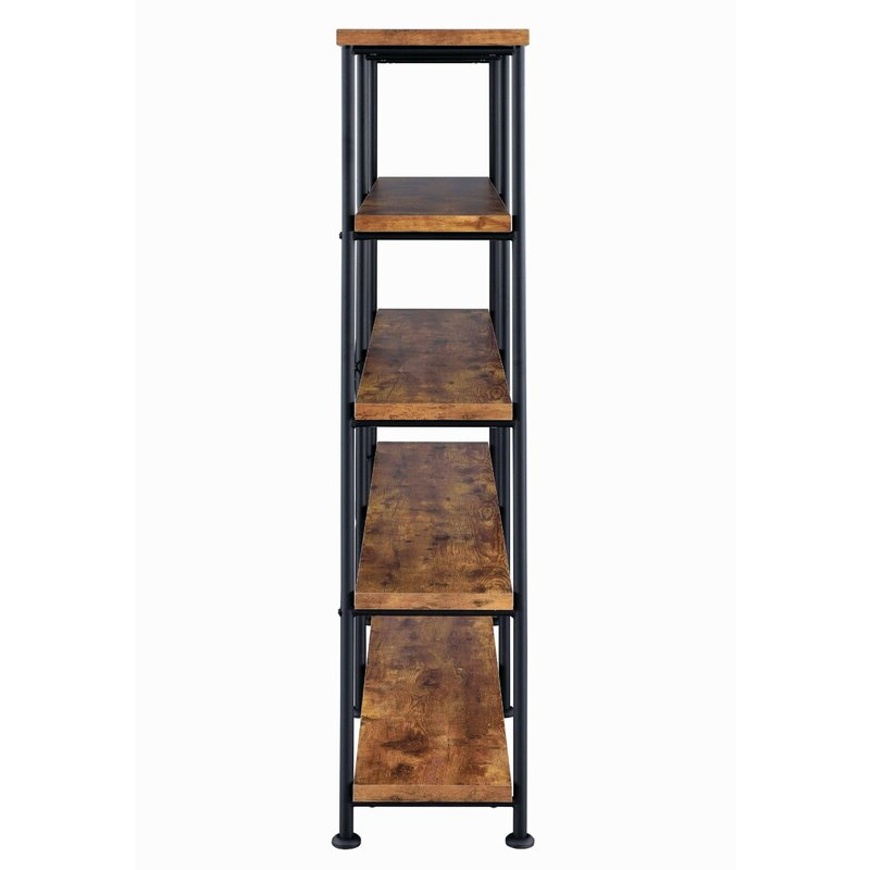Champney Modern Etagere Bookcases Within Latest Cifuentes Dual Etagere Bookcase (View 16 of 20)