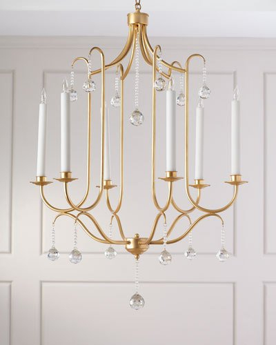 Chandelier Lighting At Horchow Pertaining To Most Current Donna 4 Light Globe Chandeliers (Gallery 18 of 30)