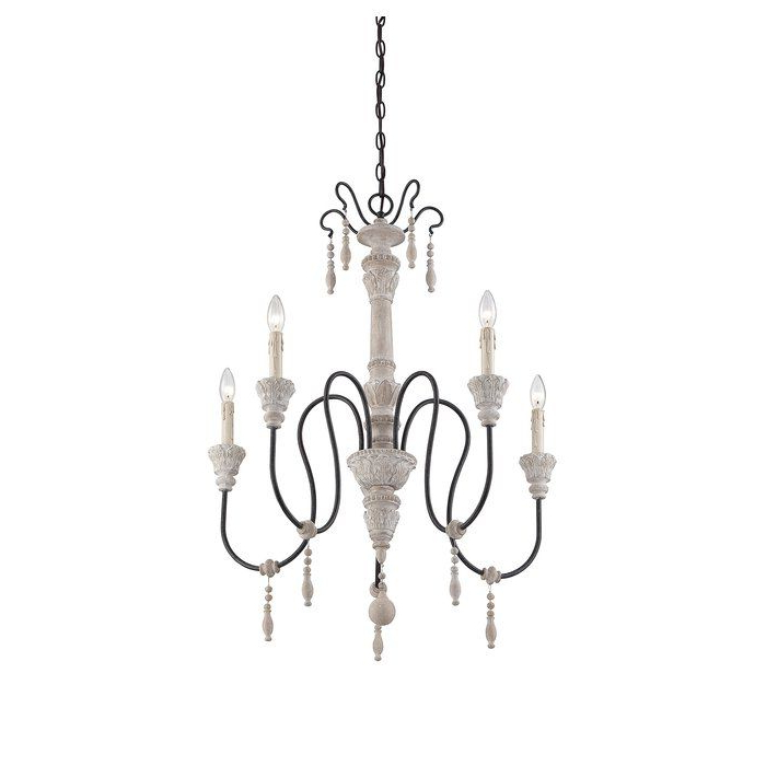 Chandelier Pertaining To Most Popular Bouchette Traditional 6 Light Candle Style Chandeliers (View 16 of 30)