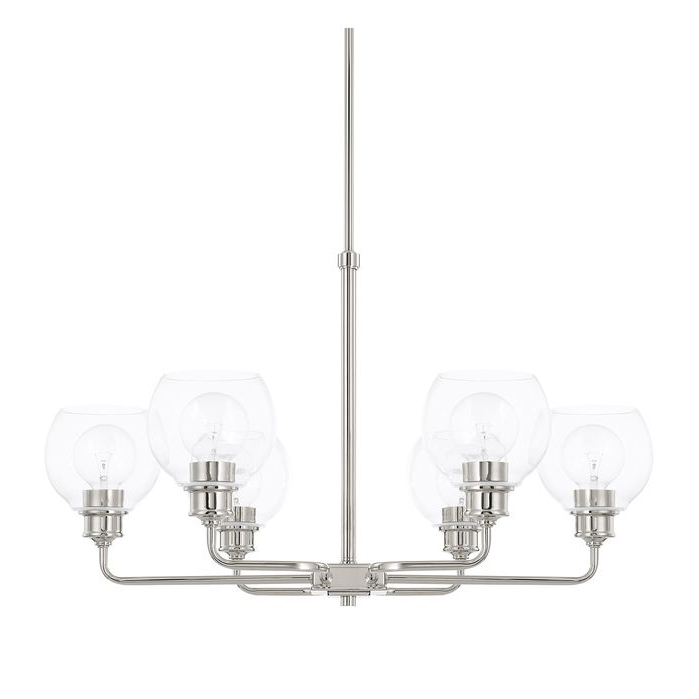 Chandeliers Maria 6 Light Shaded Chandelier March 2019 Inside Preferred Cavanagh 4 Light Geometric Chandeliers (View 30 of 30)