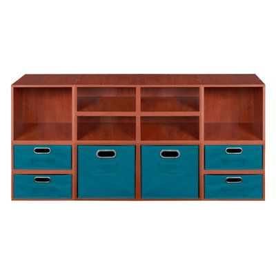 Chastain Storage Cube Unit Bookcases Pertaining To Trendy Rebrilliant Chastain Standard Bookcase (Gallery 4 of 20)