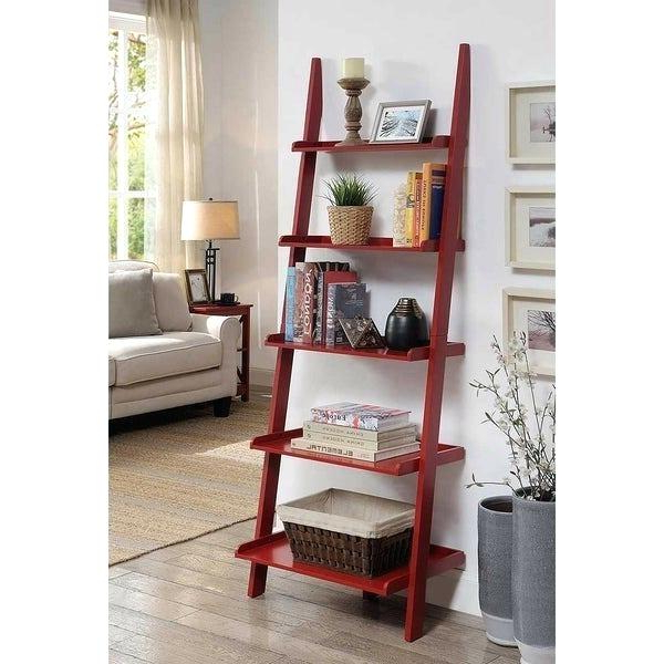 Cheap Ladder Bookshelf – Jarvisnigro (View 3 of 20)
